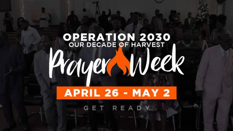 Operation 2030 Prayer Drive