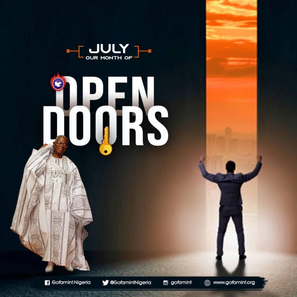 july 2020 open doors