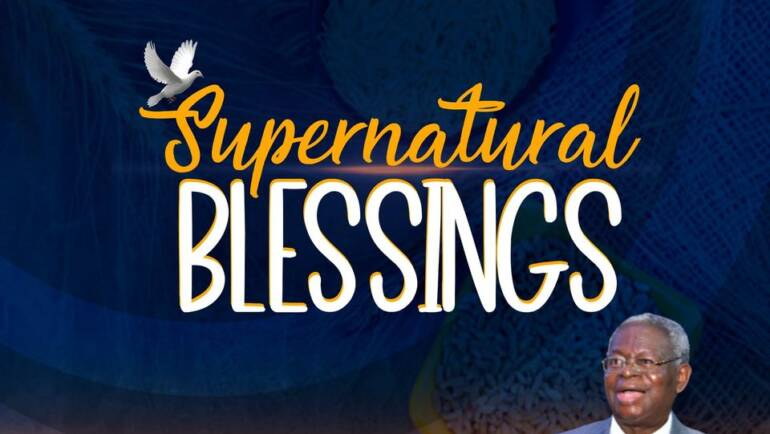 February 2021 – Our Month of Supernatural Blessings