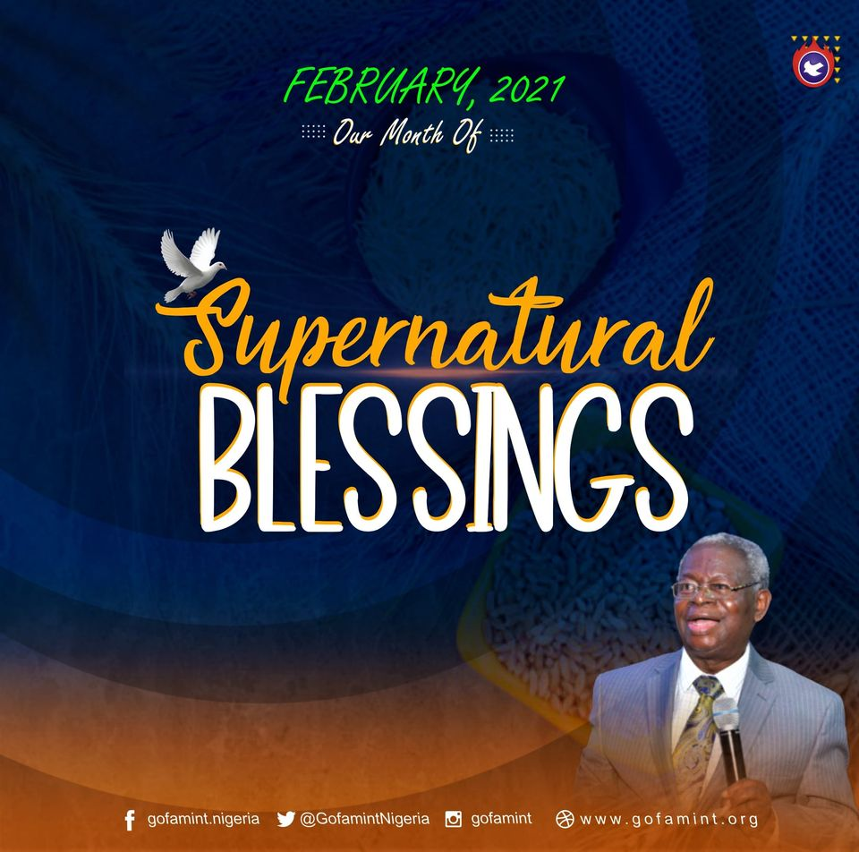 February prophetic declaration