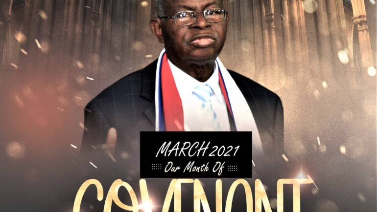 March 2021 – Our Month of Covenant