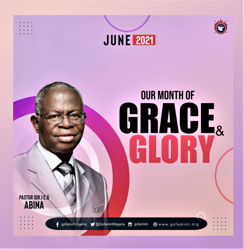 June 2021 Grace and Glory